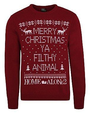 Home Alone 2 Christmas Jumper (Merry Xmas Ya Filthy Animal) - £12 @ ASDA George