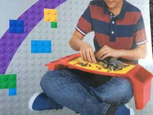 Wilko Blox storage lap tray half price compatible with Lego £8 Free C & C and instore