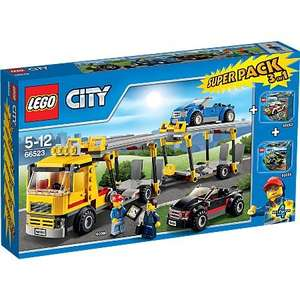 Lego city vehicle 3in1 set down to £30 from £40 at Asda