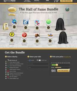 MacHeist Hall of Fame bundle £9.93 @ MacHeist