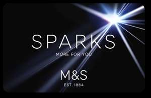 Marks and Spencer Sparks Card - 10% off for 10 days