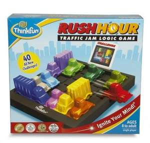 The Ravensburger Rush Hour traffic jam puzzle-  2 for £15  @ tesco direct