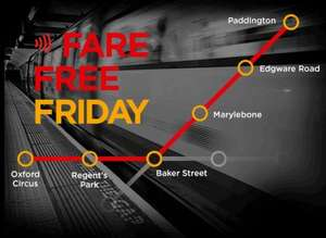 Travel for free around London using MBNA MasterCard on Friday 13 November 2015