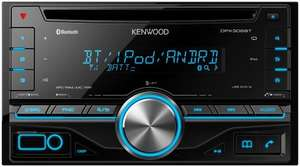 Kenwood DPX-306BT Double-Din Car Stereo with Built-In Bluetooth Handsfree - £105.34 - Amazon