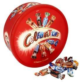 Celebrations  Chocolate Tub 750 Grams £4.00 @ Asda