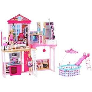 Complete Barbie Home (inc 3 Barbie dolls and furniture!) - £49.99 @ Argos