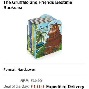 The Gruffalo and Friends Bedtime Bookcase (Hardcover) £10 delivered @ Amazon