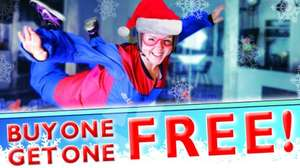 BOGOF / 2-for-1 indoor skydiving £48.99 @ Airkix