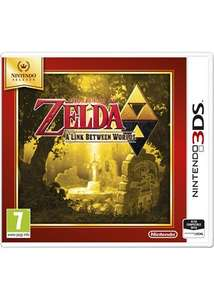 Legend of Zelda: Link Between Worlds (Selects) - 3DS - £13.85 delivered at base