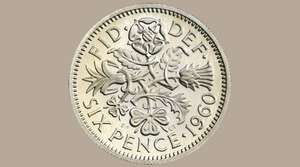 Free Lucky Sixpence @ Royal Mint