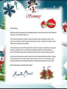 free letter from santa to download