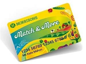£5 voucher with £40 spend @ Morrisons (via Match & More card)