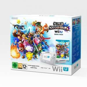 Wii U Basic Console with Super Smash Bros + Swap Force Pack £179.99 @ smythstoys