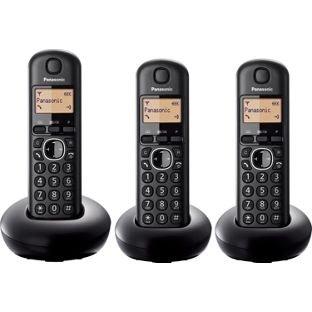 Panasonic KX-TGB213E Cordless Telephone – Triple  Less than Half  Price  £17.99 @ Argos