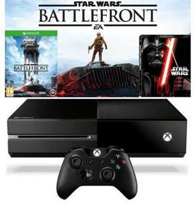 Xbox One Console With Star Wars Battlefront & Star Wars - The Original Saga (Blu-Ray) £272.49 Delivered (Using Code) @ Xtra Vision.ie