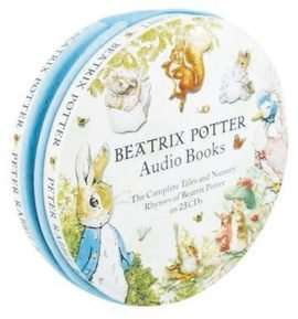 Beatrix Potter Audio Books - 23 CDs in a Tin (Collection) £16.00 with code FESTIVE20 @ The Book People