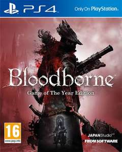 (Pre Order: PS4) Bloodborne GOTY Edition £39.97 @ Gamestop