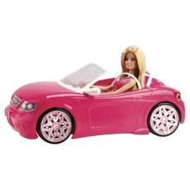 Barbie Convertible Car & Doll Playset - £12.50 @ Tesco Direct