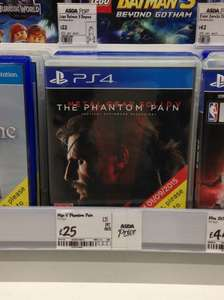*Expired* Metal Gear Solid V (5) The Phantom Pain £25 in ASDA! PS4 and Xbox One.