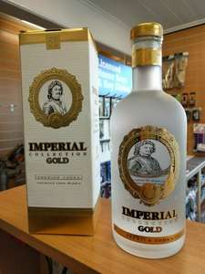 Imperial Collection Gold Premium Vodka New Reduced To £14.99-£17.99 @ Aldi