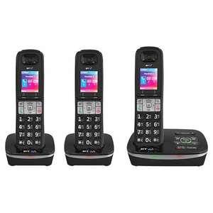 BT 8500 Digital Telephone and Answering Machine with Advanced Call Blocker, Trio -  £54.99 @ John Lewis Free delivery & 2 year guarantee
