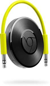Google Chromecast Audio £20 with code CAST5 at Currys