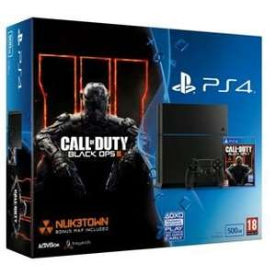 PS4 500gb + black ops 3 + fallout 4 @ Argos - £289.99  + £10 voucher