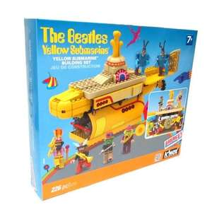 The Beatles Yellow Submarine 226 pc Knex Set ( Lego Compatible) £9.99 @ Home Bargains