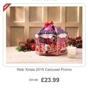 Yankee candle advent calendar carousel £23.99 @ Yankee-Candles