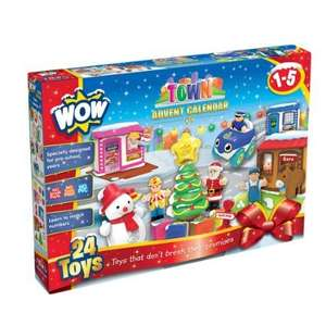 WOW Toys Town Advent Calendar £12.99 (Usually £24.99) Lightning deal at Amazon ending 10:30pm