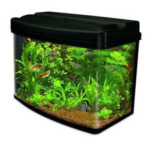 Interpet Fish Pod Glass Aquarium Fish Tank 120 Litre including CF3 Cartridge Filter £140 @ Amazon - Lightning Deal