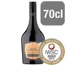 Tesco Finest Salted Caramel Irish Cream Liqueur 70cl, was £12.00 now £4.49