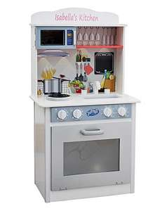 Personalised Wooden Kitchen £32.40 with local shop collection @ The Brilliant Gift Shop