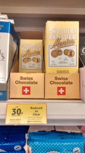 Merier White Chocolate - 30p instore @ Tesco