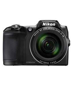 Nikon Coolpix L840 16MP 38x Zoom Bridge Camera - Black.  £138.99 @ Argos