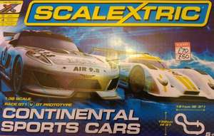 Scalextric continental sports cars £50 in-store at Beales