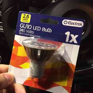 GU10 LED dimmable bulbs £1 poundland