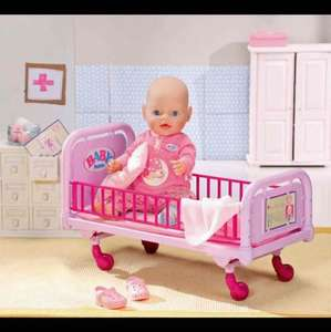 BABY Born Doctor Dolls Bed (Doll sold seperately) £13.99 @ Ebay/Argos