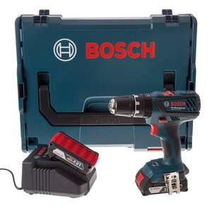 Bosch GSB 18-2-LI Plus 18v Combi Drill 2 x 2.0Ah Batteries in L-Boxx £99 @ PowerToolWorld