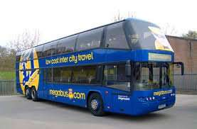 Bus ride from Amsterdam to London for £0.50 in January 2016 with Megabus