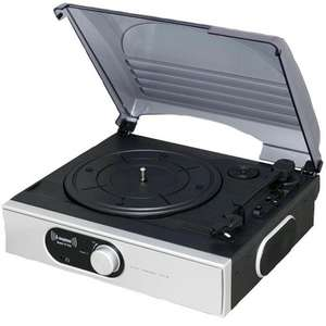 STEEPLETONE 	ST938/W  Silver Stereo Record Player £29.94 + Free delivery from CPC UK