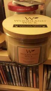 Woodland Wick Candles £3.99 at b&m Newport Road Store