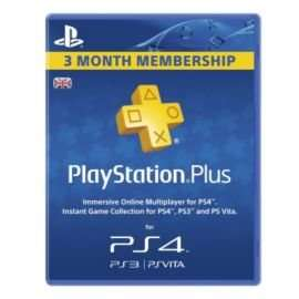 PlayStation Plus Card 90 Day Subscription £12.00 OR £6 IN CLUBCARD VOUCHERS WITH CLUBCARD BOOST!!!! @ Tesco