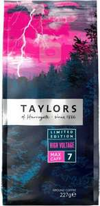 Taylors of Harrogate Fairtrade Ground Coffee Limited Edition (227 g) Strength 7 was £3.49 now 2 for £5.00 @ Tesco