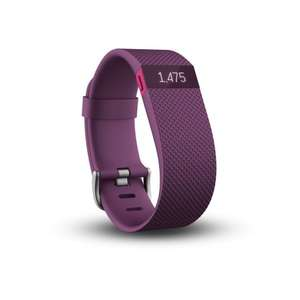 Fitbit Charge HR Plum or Black, small & large sizes £64.95 delivered @ Amazon