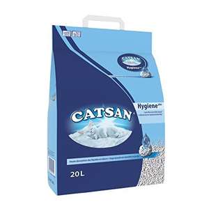 Catsan Hygiene Cat Litter - 20L - £6.99 delivered @ Amazon (exclusively for Prime members)