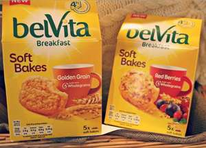 Belvita Soft Bakes now half price £1.39 @ Tesco