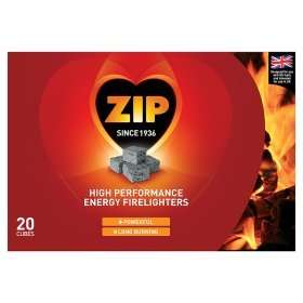 40 Zip High Performance Firelighters for £3.50 (8.7p each) at Asda