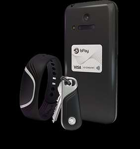 Free bPay sticker (worth £14.99) with a purchase of a bPay wristband, key fob or sticker + 16.8% TCB