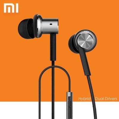 Original Xiaomi Hybrid Dual Drivers Earphones In-Ear Headphones £13.22 @ Gearbest